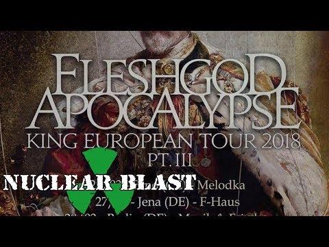 FLESHGOD APOCALYPSE - 'King' European Tour Pt. 3 (OFFICIAL TRAILER)