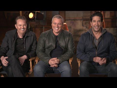 Friends REUNION: Matthew Perry, David Schwimmer and Matt LeBlanc Talk Nostalgia and HBO Max Special