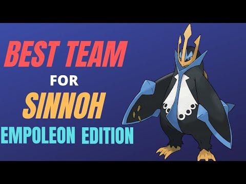 The Best Team For Pokemon Brilliant Diamond And Shining Pearl Empoleon Edition Sinnoh Gen 4 Remakes