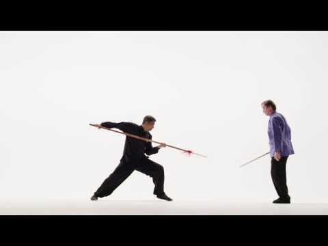 Chinese Swordsmanship- Jian vs. Spear with Scott M. Rodell & Kisu Stars