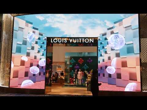 Louis Vuitton – Changi Airport, Singapore