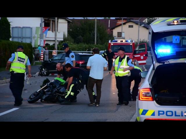 Tragična prometna nesreča v Črenšovcih