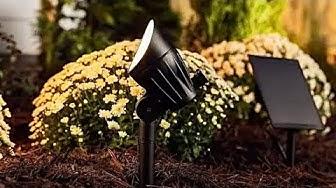 BEST LED Solar Landscape Spot Light REVIEW