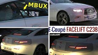 Mercedes Erlkönig E-Klasse E-Class Coupé C238 Facelift 2020 MBUX close up! Ganz nah! 4K SPY VIDEO