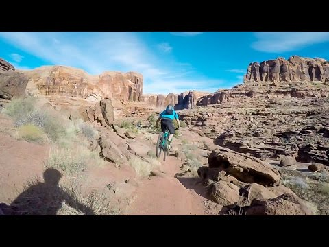 Mountain Biking Captain Ahab- Moab, Utah