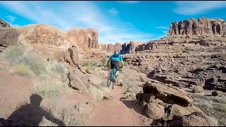 Mountain Biking Captain Ahab- Moab, Utah