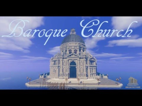 Minecraft Architecture: Baroque church (La Salute