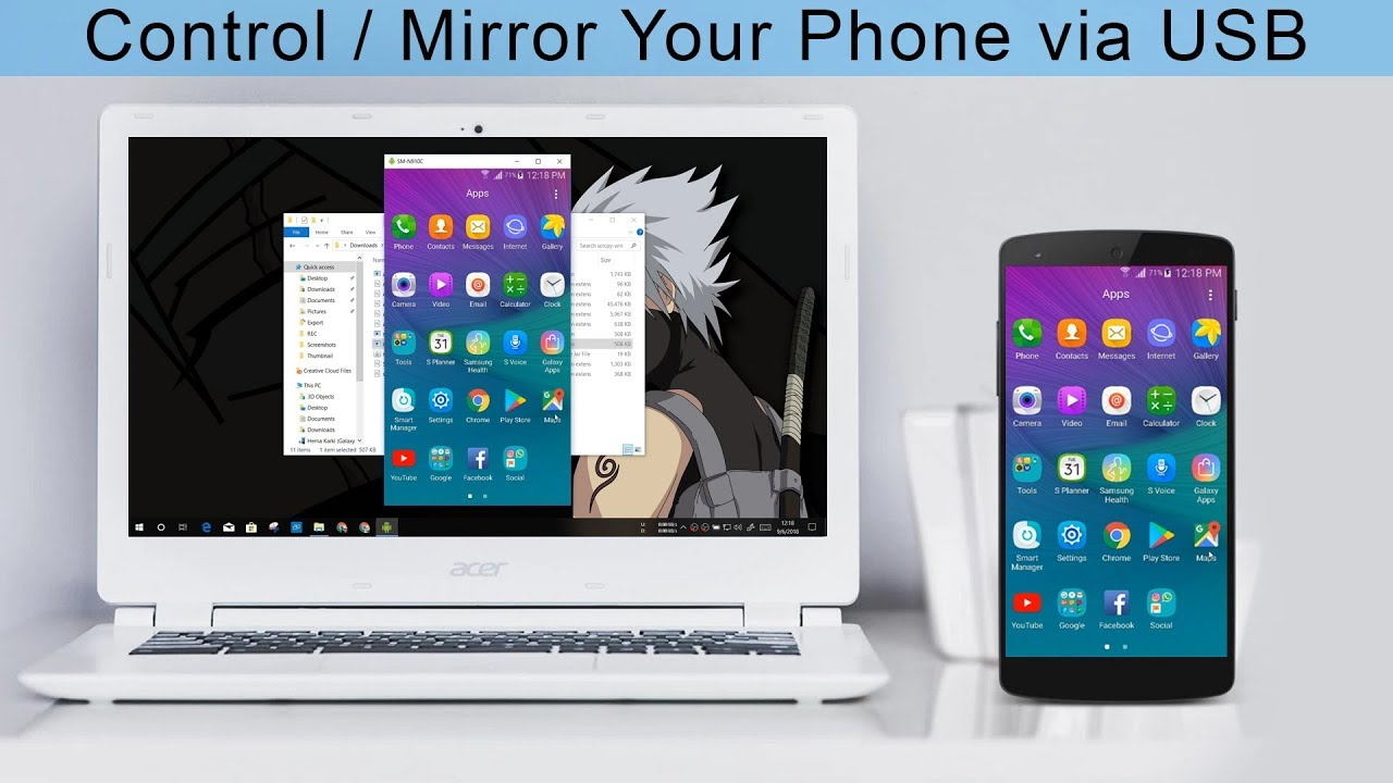 [SCRCPY] Control Your Android Phone from PC via USB