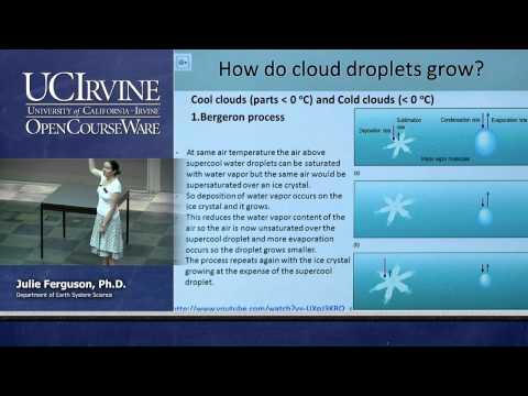 ESS 5. Lec 09. The Atmosphere: Precipitation Processes