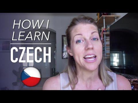 CZECH LANGUAGE   How I learn Czech
