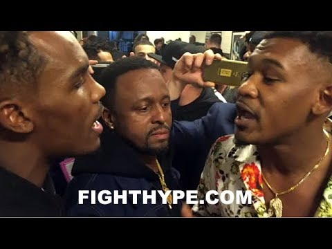 MUST SEE!!! DANIEL JACOBS AND JERMALL CHARLO GO AT IT IN HEATED CONFRONTATION