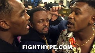 (MUST SEE!!!) DANIEL JACOBS AND JERMALL CHARLO GO AT IT IN HEATED CONFRONTATION