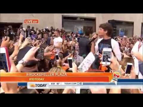 One Direction What Makes You Beautiful, Best Song Ever, Kiss You And Little Things Today Show