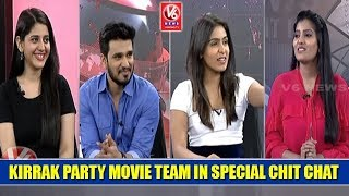 Kirrak Party Movie Team In Special Chit Chat | ...