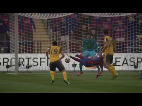 FIFA 17    Barcelona Vs Arsenal FULL GAMEPLAY (PS4/Xbox One)