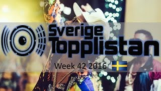 The Official Swedish Singles Chart TOP 20 | Week 42, October 14th 2016