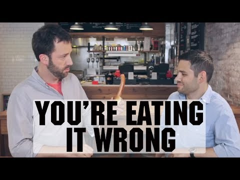 You're Eating Hot Dogs Wrong | Food Network