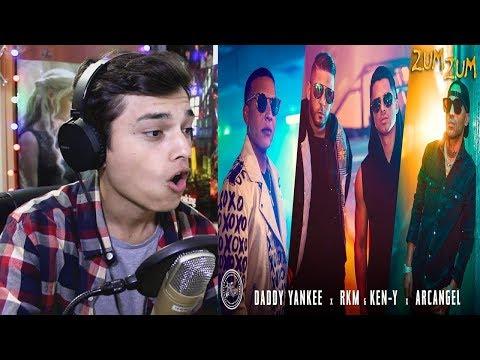 Daddy Yankee x Rkm & Ken-Y x Arcangel x Natti Natasha 🐝🍯 – Zum Zum [Official Video] Reaccion