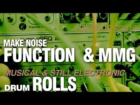 MAKE NOISE FUNCTION ROLLS // MMG Filter