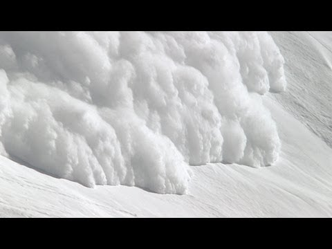 Internal Force of an Avalanche