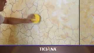 как сделать эффект трещин