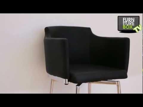 DETROIT Stol Svart Furniturebox