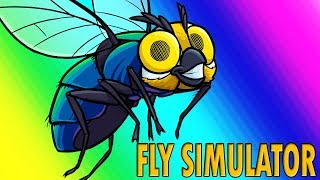 Fly Simulator Funny Moments - The Worst Pizza Place Ever