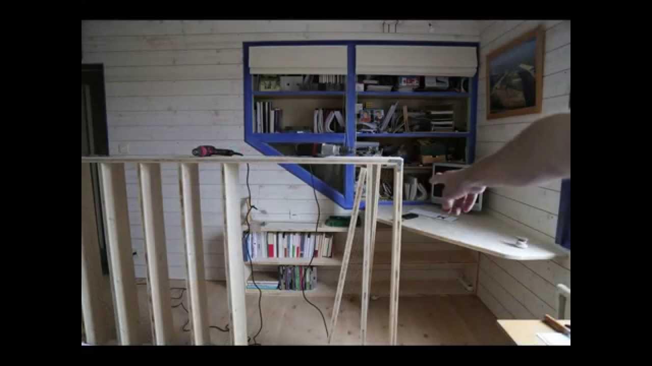 r aliser une biblioth que en contreplaqu 3 plis en un week end youtube. Black Bedroom Furniture Sets. Home Design Ideas