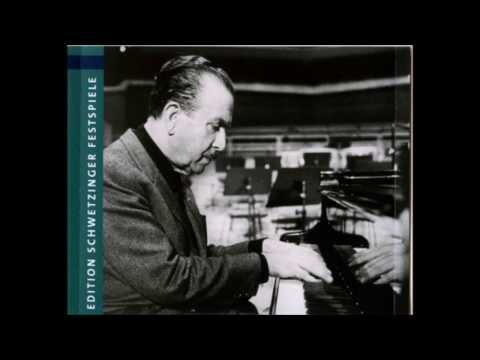Arrau plays Brahms - Variations and Fugue on a theme by Handel for Piano, Op. 24