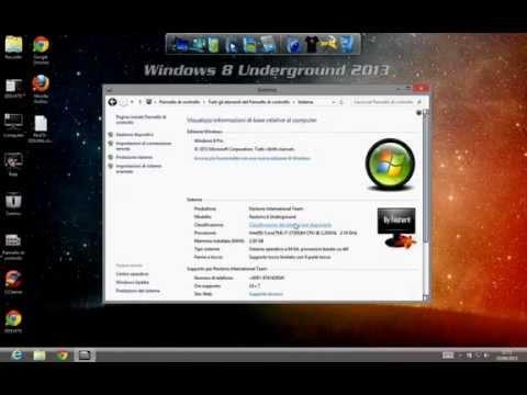 windows 8 mod undergraund x64 youtube
