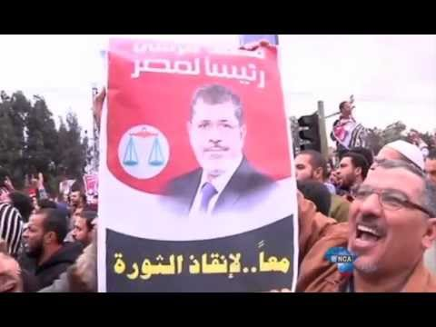 Tensions rise in Egypt ahead of Morsi's trial.