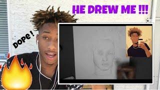 She drew me ! ( Jovart14 ) -Time Lapse Drawing