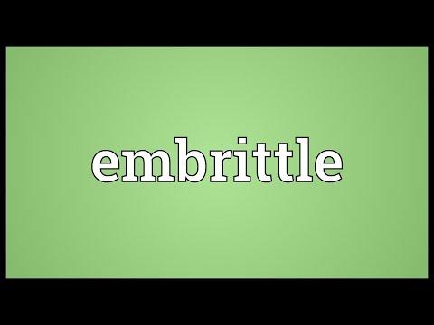 Header of embrittle