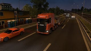 Euro Truck Simulator 2 long journey from Ioannina (Greece) to Paris (France) Part 1