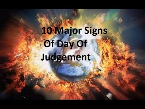 10 Major Signs Of Day Of Judgement By Yasir Qadhi