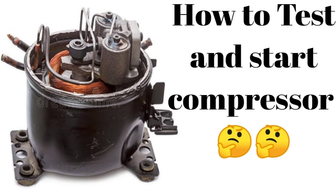 DIY refrigerator compressor - YouTube