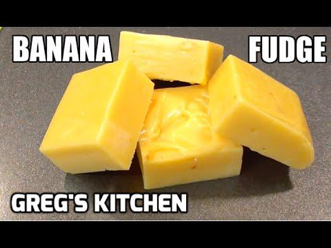 Download Youtube: HOW TO MAKE BANANA FUDGE - 3 ingredients - Greg's Kitchen
