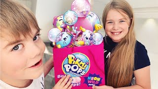 LUCKY DIP TIME WITH ALL NEW PIKMI POP BUBBLE DROPS NEON WILD SERIES!