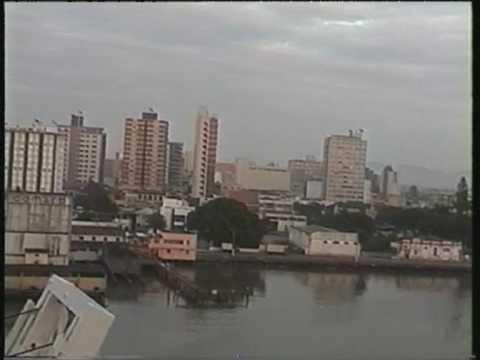 """Frachtschiffreise mit MS """"Contship Argentina""""  7  -  Port of Itajai  (Brazil)"""