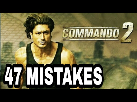 COMMANDO 2 MOVIE 47 MISTAKES