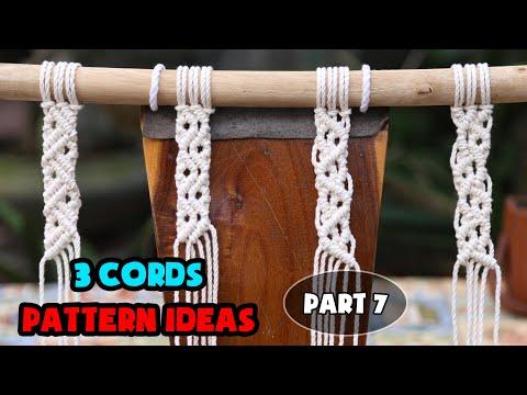 how-to-macrame-|-diy-macrame-|-3-cords-pattern-ideas-|-design-&-tutorial-by-lit-decor-(part-7)