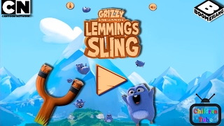 Grizzy And The Lemmings Lemmings Sling Shot Gameplay ✔