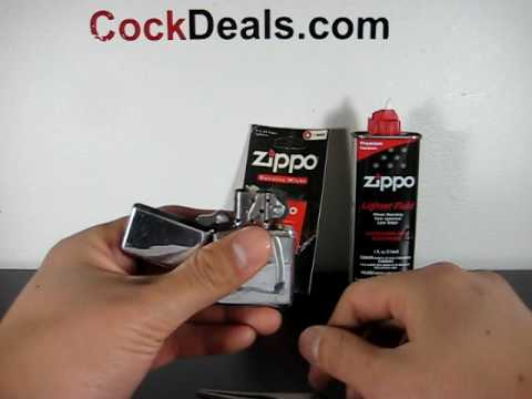 How To Replace The Wick On Your Zippo Lighter!