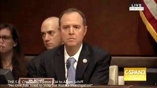 """No One has Tried to Stop our Russia Investigation""Former CIA Brennan to Adam Schiff"