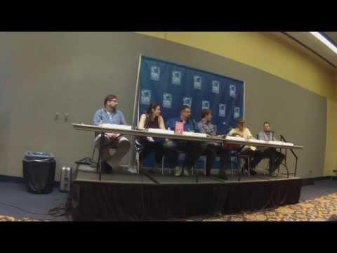 Planet Comicon Panel - Writing the Novel