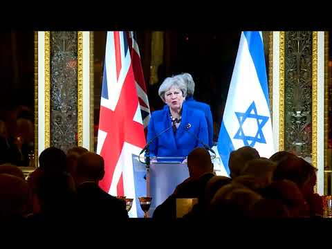 PM Theresa May on a safe and secure homeland for the Jewish people