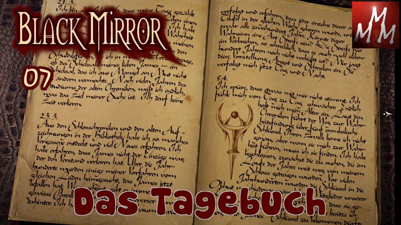 BLACK MIRROR I • 07: Das Tagebuch • Point And Click Adventure