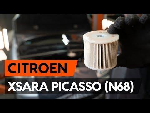 Как заменить топливный фильтр на CITROEN XSARA PICASSO (N68) [ВИДЕОУРОК AUTODOC]