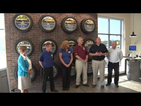 Waxhaw's Goodyear Auto Service Ribbon Cutting