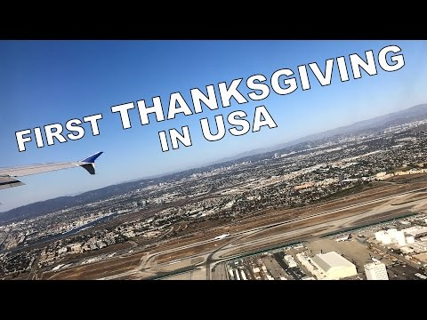 My First THANKSGIVING in USA